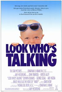Look Who's Talking (1989) 1080p Poster