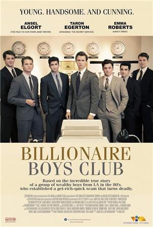 Billionaire Boys Club (2018) 1080p Poster