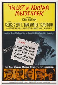 The List of Adrian Messenger (1963) Poster