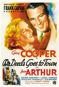 Mr. Deeds Goes to Town (1936) 1080p Poster