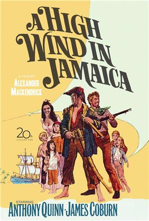 A High Wind in Jamaica (1965) Poster