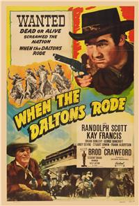 When the Daltons Rode (1940) 1080p Poster