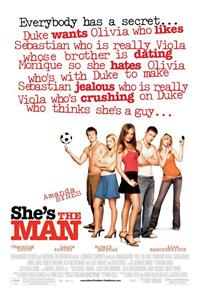 She's the Man (2006) 1080p Poster
