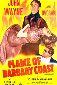 Flame of Barbary Coast (1945) Poster