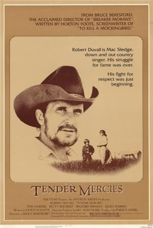 Tender Mercies (1983) Poster