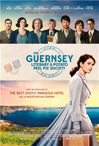 The Guernsey Literary & Potato Peel Pie Society (2018) 1080p Poster