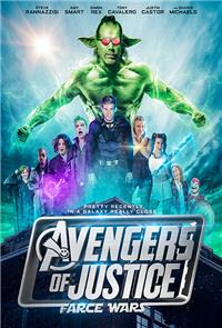 Avengers of Justice: Farce Wars (2018) Poster
