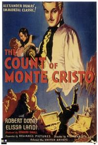 The Count of Monte Cristo (1934) Poster