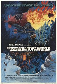 The Island at the Top of the World (1974) Poster