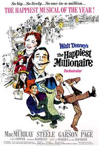 The Happiest Millionaire (1967) 1080p poster
