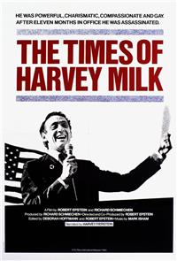 The Times of Harvey Milk (1984) Poster