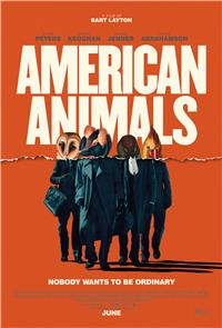 American Animals (2018) Poster