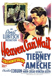 Heaven Can Wait (1943) Poster