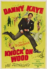 Knock On Wood (1954) 1080p poster