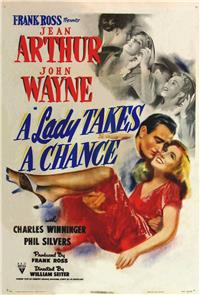 A Lady Takes a Chance (1943) Poster