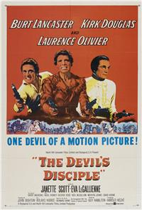 The Devil's Disciple (1959) 1080p Poster