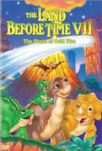 The Land Before Time VII: The Stone of Cold Fire (2000) 1080p Poster