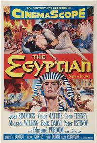 The Egyptian (1954) Poster