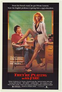 They're Playing with Fire (1984) Poster