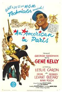 An American in Paris (1951) Poster
