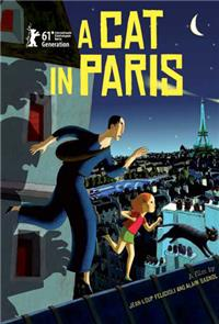 A Cat in Paris (2010) 1080p Poster