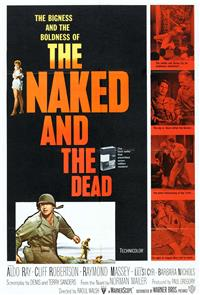The Naked and the Dead (1958) Poster