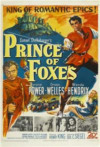 Prince of Foxes (1949) 1080p Poster