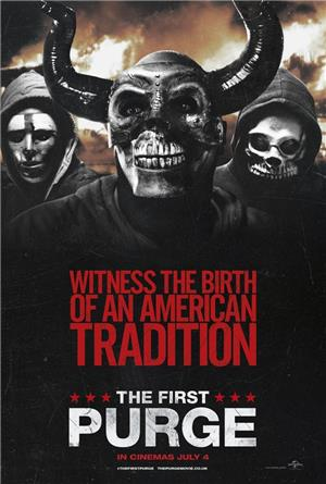 The First Purge (2018) 1080p Poster
