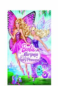 Barbie: Mariposa and The Fairy Princess (2013) 1080p Poster