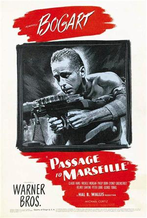 Passage to Marseille (1944) Poster