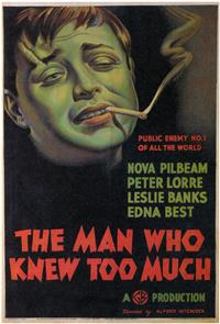 The Man Who Knew Too Much (1934) 1080p Poster