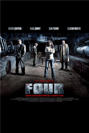 Four (2011) 1080p Poster