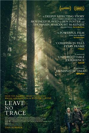 Leave No Trace (2018) 1080p Poster