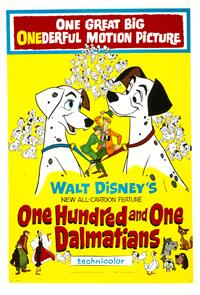 One Hundred and One Dalmatians (1961) 1080p Poster
