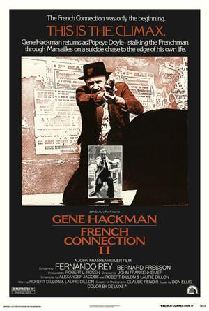French Connection II (1975) 1080p Poster