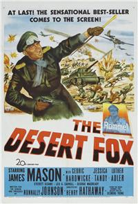 The Desert Fox: The Story of Rommel (1951) Poster