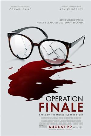 Operation Finale (2018) Poster