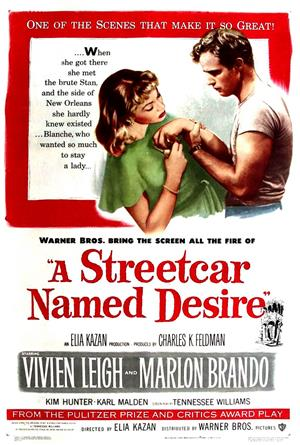 A Streetcar Named Desire (1951) 1080p Poster