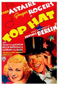 Top Hat (1935) 1080p Poster