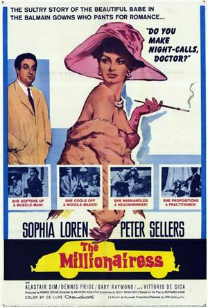 The Millionairess (1960) Poster