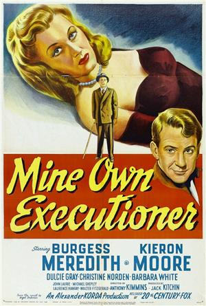 Mine Own Executioner (1947) 1080p Poster