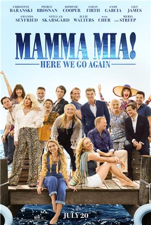 Mamma Mia! Here We Go Again (2018) Poster