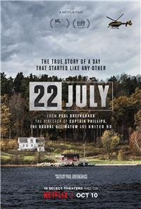 22 July (2018) 1080p poster