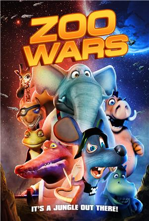 Zoo Wars (2018) 1080p Poster