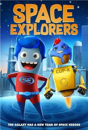 Space Explorers (2018) Poster
