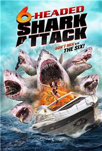 6-Headed Shark Attack (2018) 1080p Poster