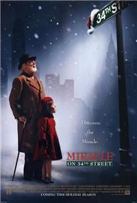 Miracle on 34th Street (1994) 1080p Poster