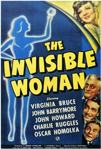 The Invisible Woman (1940) 1080p Poster