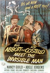 Abbott and Costello Meet the Invisible Man (1951) Poster