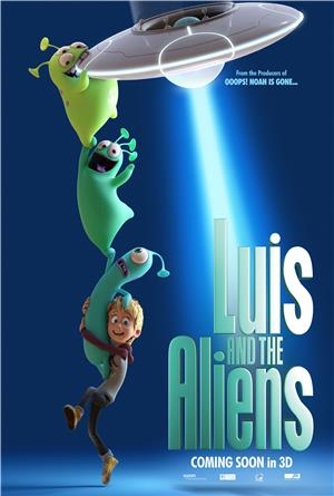 Luis and the Aliens (2018) 1080p Poster